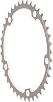 Campagnolo Double Inner Chainring - Matte-gray, Record 10 speed 39T innner double chainring with Anti-Friction coating 135mm BCD