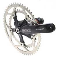 Truvativ Rouleur Double Carbon Crankset for Road 170mm arm length, 3953 AL7075T6 rings