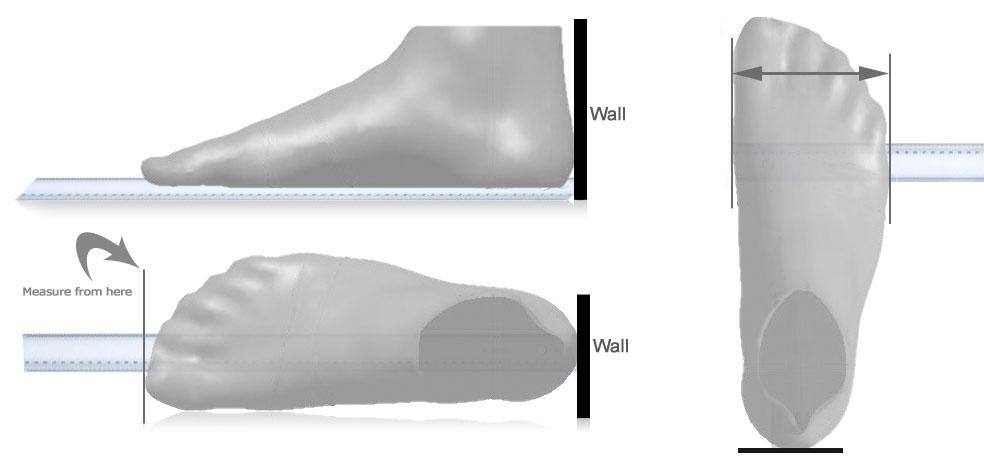 How to measure your foot for BONT Shoes