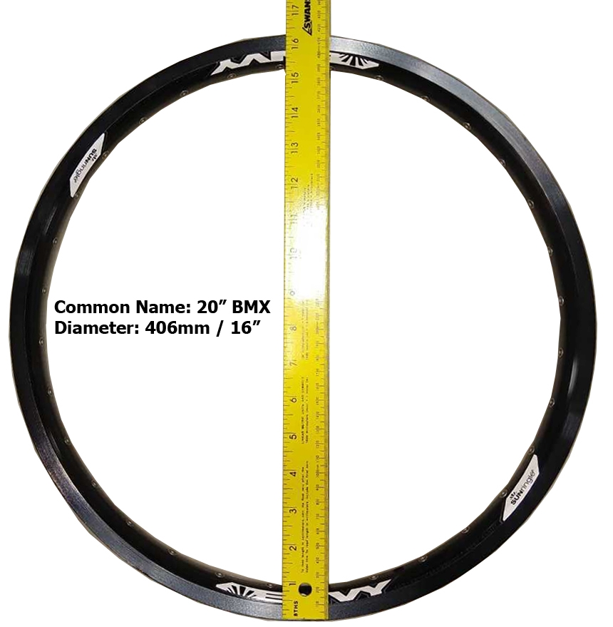 Bicycle Rim Sizing