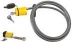 Saris 984 Locking Cable W/locking Hitch Pin
