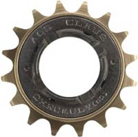 ACS Claws Freewheel - Brown - 17T x 3/32