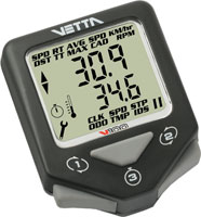 Vetta V100 Black, wireless speed with wireless cadence