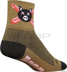 SockGuy Classics Socks Bacon SockGuy Bacon L/XL