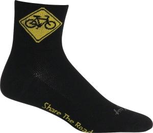 SockGuy Classics Socks Share The Road SockGuy Share the Road L/XL