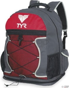 TYR Transition Backpack Charcoal/Red TYR Transition Backpack Charcoal/Red