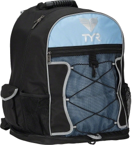 TYR Transition Backpack Black/Light Blue TYR Transition Backpack Black/Light Blue