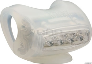 Knog Skink Headlights Knog Skink 4 White LED Light Translucent