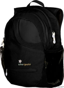 Sherpani XO Backpack Black Sherpani XO Backpack Black