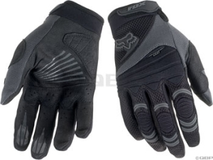 Fox Racing Digit Full Finger Gloves Fox Digit Glove Black XL
