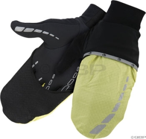 Pearl Izumi Shine Wind Mitt Gloves Pearl Izuming Shine Wind Mitt LG Screaming Yellow