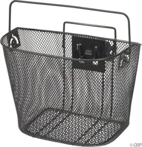 Dimension Mesh Basket with Quick Release Mount Black Dimension Mesh Basket with Quick Release Mount Black