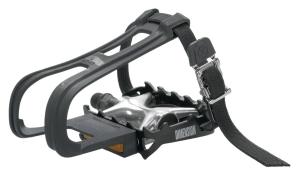 Dimension Combo Compe Pedal/Toe clip Set 9/16 Aluminum Dimension Combo Compe Pedal/Toe clip Set 9/16 Aluminum