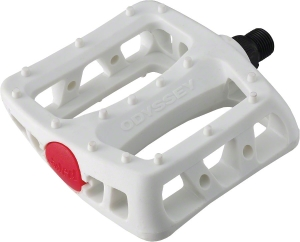 Odyssey White Twisted PC 9/16 Pedals Odyssey White Twisted PC 9/16 Pedals