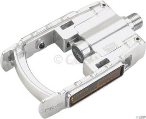 MKS Folding Platform Pedals, Silver MKS Folding Platform Pedals, Silver