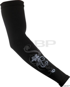 Pearl Izumi Thermal Lite Arm Warmers Pearl Izumi Thermal Lite Arm Warmer Md Black Scroll