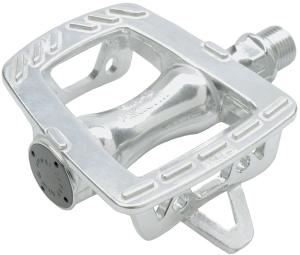 MKS GR9 Platform Pedals, Silver MKS GR9 Platform Pedals, Silver