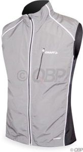 Craft Men's Courier Vest Craft Courier Vest Silver/Black XXL