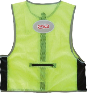 Fuelbelt High Visibility Vest Fuelbelt High Visibility Vest Neon Green S/MD