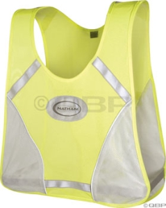 Nathan Cyclist Reflective Vest Neon Yellow Nathan Cyclist Reflective Vest Neon Yellow