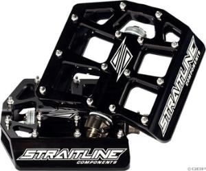Straitline Platform Pedal 9/16, Black Straitline Platform Pedal 9/16, Black