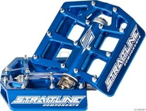 Straitline Platform Pedal 9/16, Blue Straitline Platform Pedal 9/16, Blue