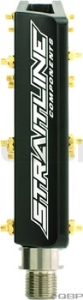 Straitline Jeff Lenosky Pedal 9/16, Black/Gold Straitline Jeff Lenosky Pedal 9/16, Black/Gold