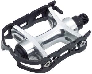 Wellgo 888 Pedals Wellgo 888 1/2 Alloy Quill Pedals, Black