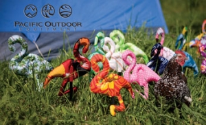 Pacific Outdoor Equipment Pack Flamingo Flock of 4 Tent Stakes Pacific Outdoor Equipment Pack Flamingo Flock of 4 Tent Stakes