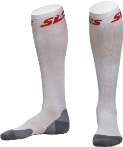 SLS3 Compression Sox Compression Gear SLS3 Padded Compression Sox White XS/S
