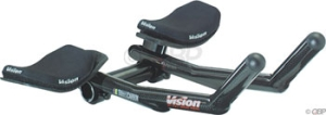 Vision Carbon Pro ClipOn Aero Bars Vision Carbon Pro Clipon Bars 31.8 x 270mm Carbon