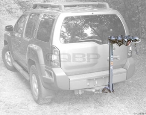 Kuat Alpha 3Bike Mast Hitch Rack Black/Chrome Kuat Alpha 3Bike Mast Hitch Rack Black/Chrome