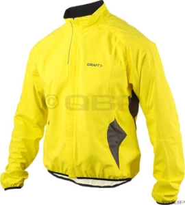 Craft Bike Rain Rain Jackets Craft Bike Rain Jacket Yellow/Black Lg