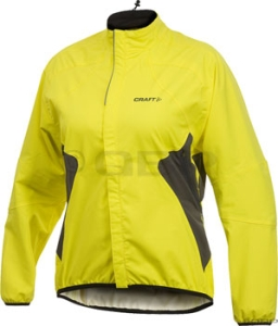 Craft Women's Active Rain Jackets Craft Women's Active Rain Jacket Yellow SM