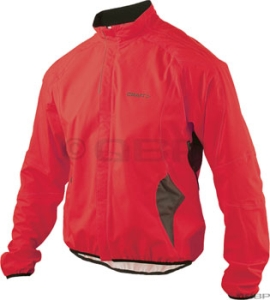 Craft Bike Rain Rain Jackets Craft Bike Rain Jacket Red/Black Lg