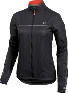 Pearl Izumi Women's Elite Barrier Jackets Pearl Izumi Women's Elite Barrier Black/True Red SM