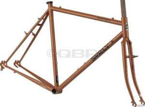 Surly Cross Check Beef Gravy Brown Cyclocross Frame Sets Surly Cross Check Frameset, 54cm, Beef Gravy Brown