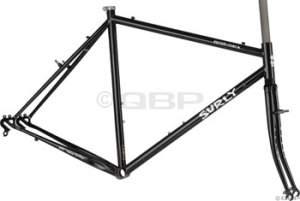 Surly Cross Check Black Cyclocross Frame Sets Surly CrossCheck 62cm Frameset Black 09