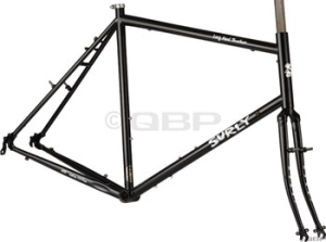 Surly Long Haul Trucker Black 26 Touring Frame Sets Surly Long Haul Trucker 60cm 26 wheel Black