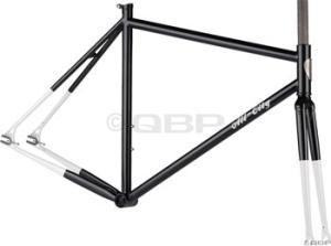 AllCity Big Block Track Frame Sets AllCity Big Block 58cm Track Frame Black/White