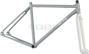 AllCity Dropout Track Frame Sets Gray AllCity 2010 Freestyle Frame Large Gray