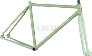 AllCity Dropout Track Frame Sets Green AllCity 2010 Freestyle Frame Green Small