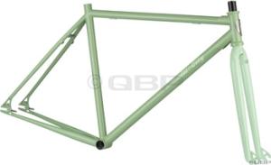 AllCity Dropout Track Frame Sets Green AllCity 2010 Freestyle Frame Green Large