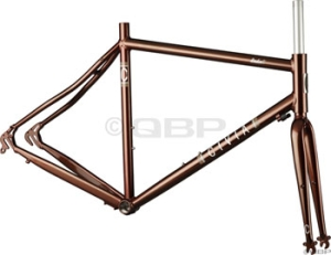 Civia Cycles Linden Transportation Frame Sets Civia Linden Frameset 54cm Root Beer Brown