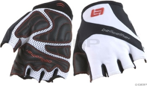 Bellwether Pursuit Gloves Bellwether Pursuit Short Finger Glove White MD