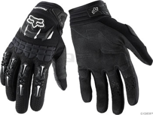 Fox Racing Dirtpaw Youth Gloves Black Fox Racing Youth Dirtpaw Glove Black SM