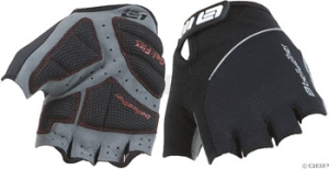 Bellwether Gel Flex Men's Gloves Bellwether Gel Flex Short Finger Glove Black SM
