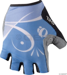 Pearl Izumi 2010 Women's Select Gel Gloves Pearl Izumi Women's Select Gel Glove Jetstream Scroll SM