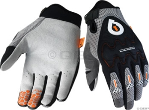 SixSixOne EVO Gloves SixSixOne EVO Glove Black/Silver MD