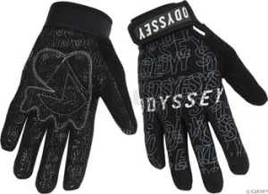 Odyssey Power Gloves Black/Gray Odyssey XLarge Black / Gray Power Gloves